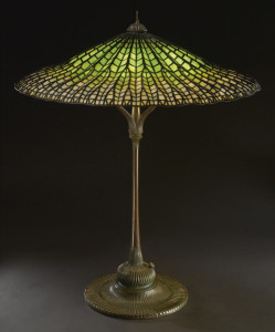 Louis Comfort Tiffany stained glass lamp