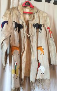 19th century Native American beaded costume