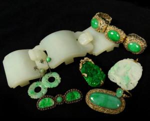 Antique Jade Jewelry