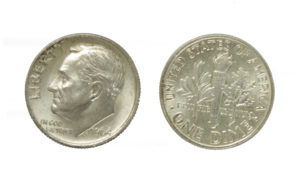 Pre-1964 Roosevelt Dimes - US Silver Coins