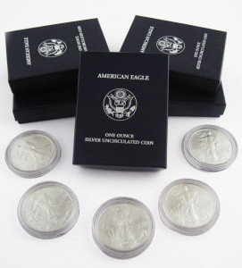 Buy Sell US Silver Coins American Eagle Bullion Amsterdam NY