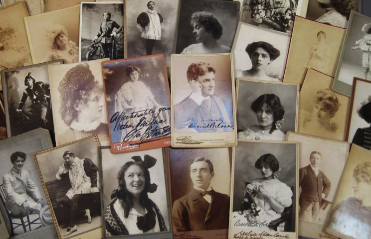 Autographed Cabinet Cards 2