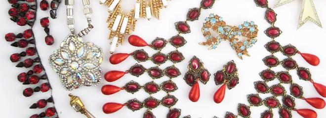 Costume Jewelry & Accessories: Antique & Vintage Costume Jewelry