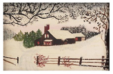 "Although unsigned the oil painting was identifiable as the work of Anna Mary Robertson, ""Grandma Moses"" : exciting finds include rare artwork & estate jewelry"