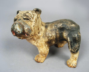 English Bulldog   Antique Cast Iron Doorstops