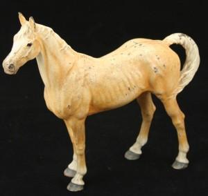 Thoroughbred horse - antique cast iron doorstops