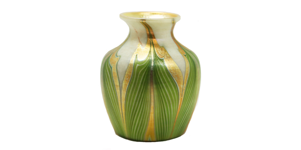 Louis Comfort Tiffany favrile glass vase