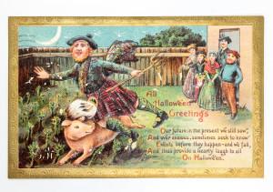 Victorian Halloween Postcards