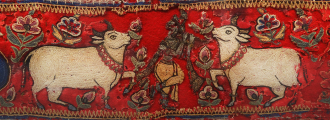 Antique Indian embroidery