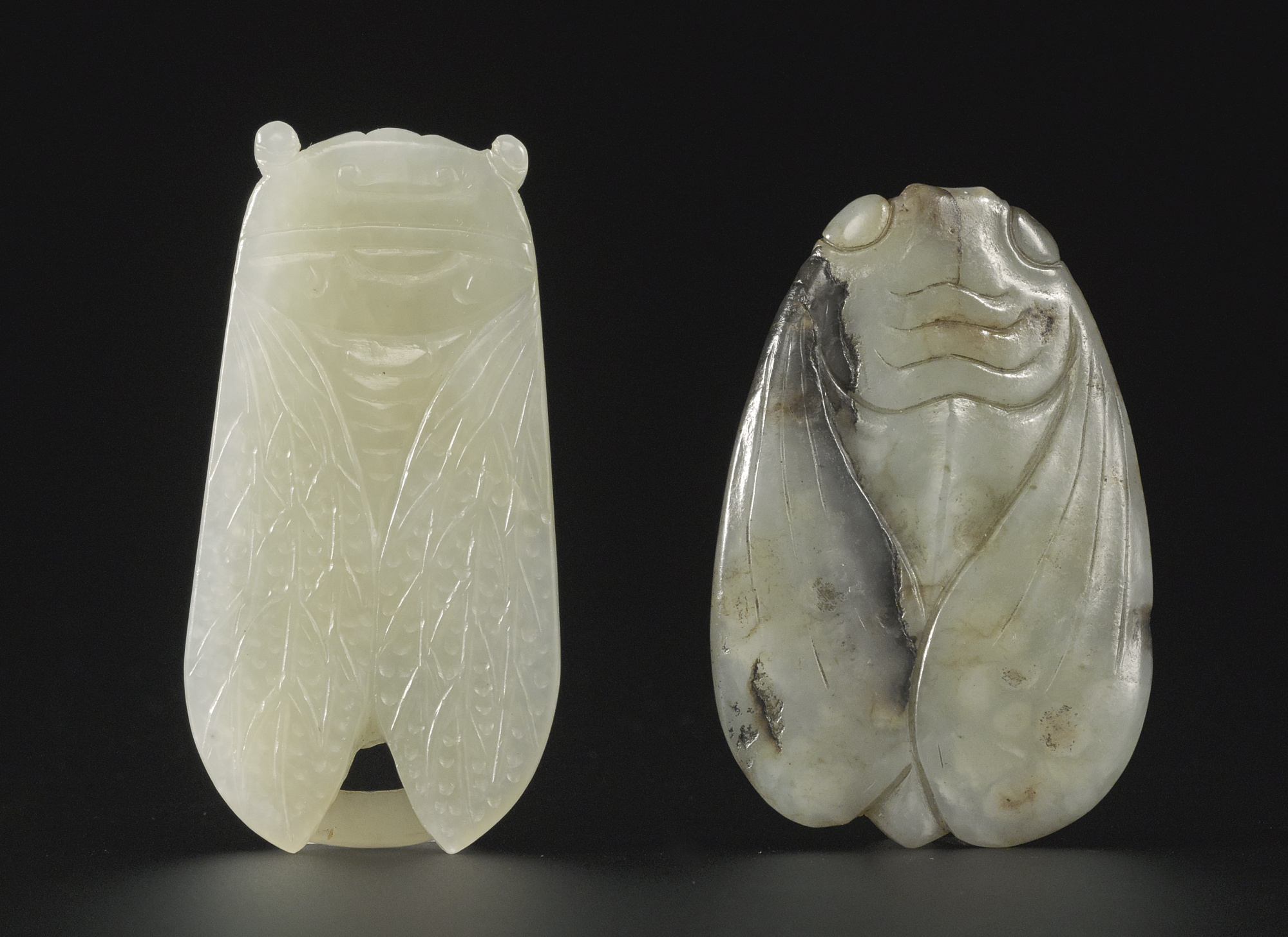Chinese jade prized gemstone of imperial china mark lawson antiques the royal antique chinese jade cicada han ornament buycottarizona Images