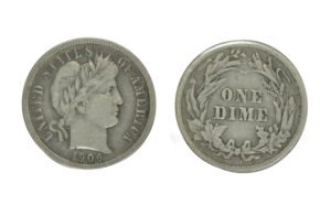 Barber Dime - US Silver Coins