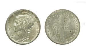 Mercury Dime - US Silver Coins