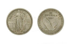Standing Liberty Quarter - US Silver Coins