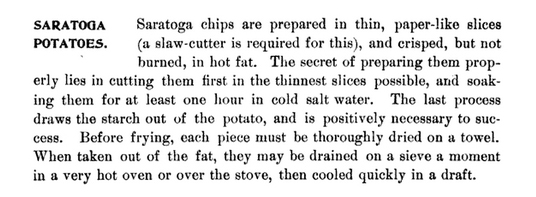 Saratoga Chips recipe - Saratoga Springs NY