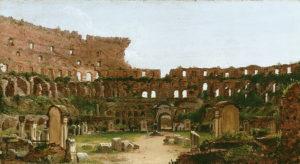 Interior of the Colosseum, Rome